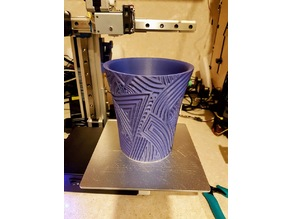 Weekly cup nr19 with thickness