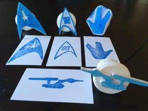 LLAP Star Trek Ink Stamp