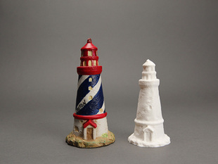 Thrift Store Lighthouse -- Digitized!