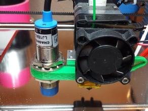 Folger i3 2020 Z-Axis Induction Sensor and Fan Bracket
