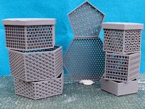 Parametric Pentagonal and Hexagonal Boxes