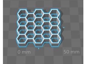 Hexagonal Cookie / Pastry Cutter