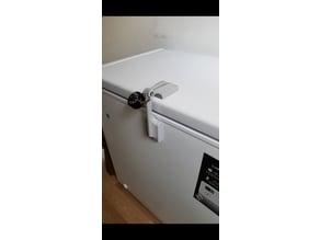 Deep freezer lock