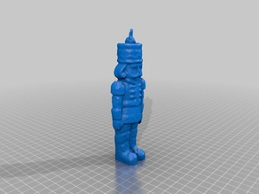 Soldier Ornament scanned with MakerBot Digitizer Desktop 3D Scanner