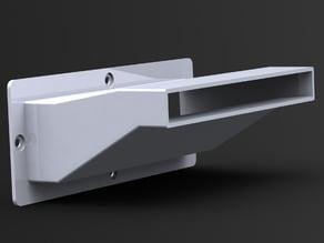 K40 Laser Cutter 3D Printed Exhaust Port