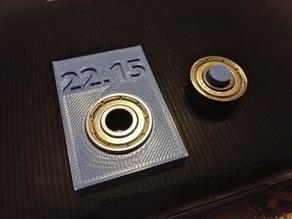 608 bearing calibration set
