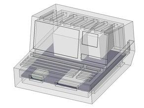 Sharp mz80b Like case for NanoPi Neo.