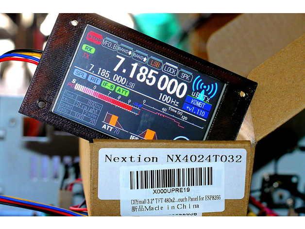 Bezel for Nextion 3 25