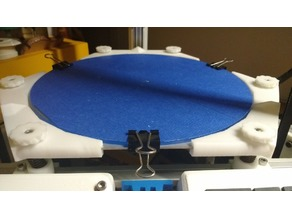 Base Kossel Hexagonal heat bed with 19 mm glass