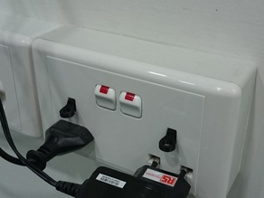 UK Electrical Outlet Key