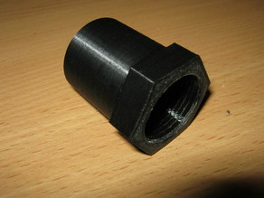 3/4 inches water pipe to 30 mm pipe adapter
