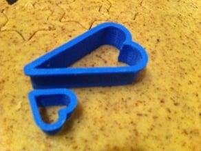 Parametric cookie cutter - heart