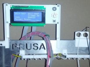 Prusa i3 Metal Frame RepRapDiscount Smart Controller Brackets