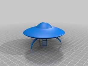 Basic UFO with invasion ladder