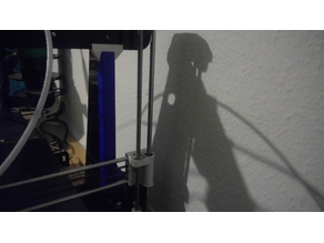 Anet A8 Stabilizer For common T corners against X axis wobble