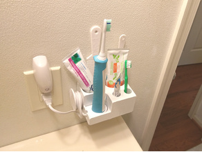 Toothbrush / Toothpaste Holder, Philips Sonicare and More