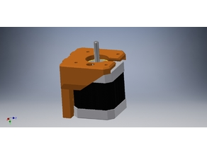 soporte motor genérico - Prusa Bear update