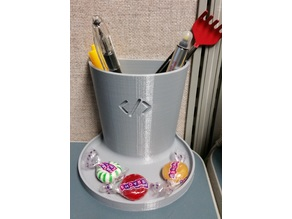 Programmers / Coders Pencil Cup / Holder with Tray