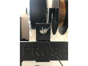 Prusa i3 MK2/S/3 MK3 / MK3s Filament Guide / Holder -> cool & moveable :-)