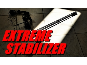 Extreme Bow Stabilizer - VERSION 2 AVAILABLE NOW - Customizable!