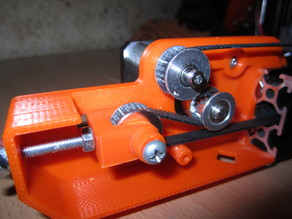 Tensioner carriage Y with inverted belt for Tevo Tarantula.