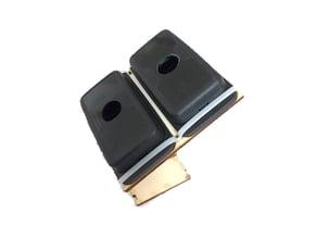 Raspberry Pi Zero UniPiCase Cam Adapter (Twin Cam Remix)