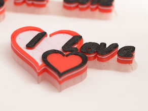 "Customizable Heart Shaped Buttons ""Words from the Heart"""
