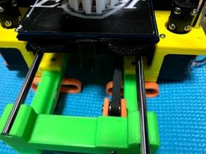 Noise reduction damping feet for 3Dtje