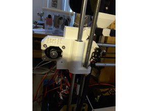 Anet A8 X axis mount with Cable Chain mounty