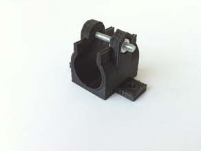 Slim LM8UU Holder Parametric