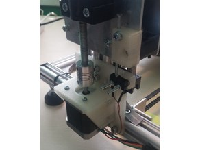 Z-Motor holder with precision Z-Axis calibration for Velleman K8200 / 3Drag