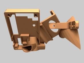 Open holster holster