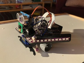 Rover wheel for Plum Geek Spirit Rover