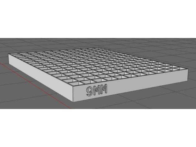 9MM Ammo Tray by fantacmet - Thingiverse
