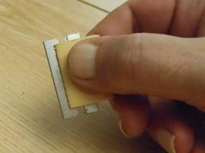 Simple blade holder...