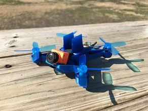 HD100mm BenAllen 3D printable Micro Drone / Mini quadcopter / Runcam Split HD