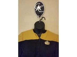 Star Trek Next Gen Communicator Badge