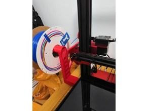 Tevo Flash Spool Holder With Filament Guide