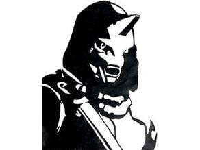 Destiny 2 Cayde stencil