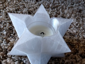 Star Tealight Candle Holder
