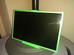 """17 """"Display stand with Raspi and HD"""