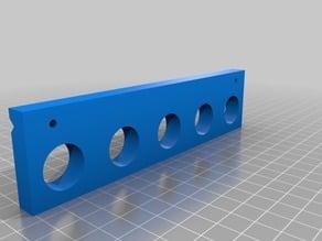 Picatinny rail shell holder