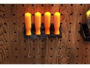 peg holder for pittsburgh picks
