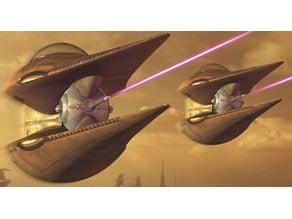 Star Wars - The Clone Wars - Nantex-class (Geonosian) Starfighter