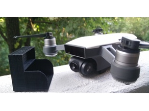 Camera and gimbal protector for drone DJI Spark