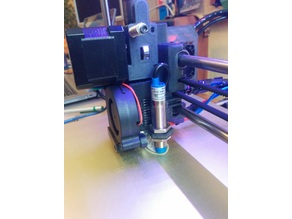 Prusa i3 MK2 extruder body for bigger P.I.N.D.A (LJ12A3-4-Z-BY)