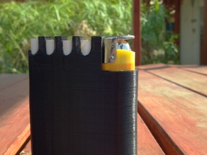 Cigarettes flask-case