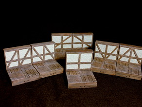 OpenForge 2.0 Tudor Wall Variations (Set 2)