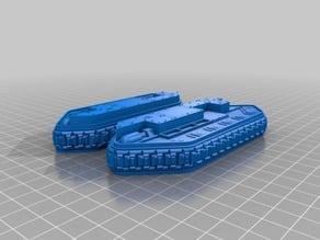 Imperial Guard Chimera APC Tracks (W/O Guides) Proxy