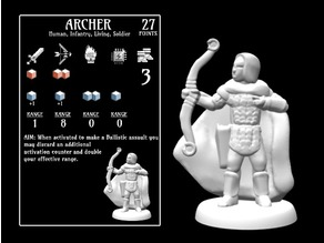 Archer (18mm scale)